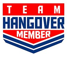 Hangover rank badge by Style-O-Mat