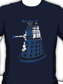 Tardis Dalek  T-Shirt