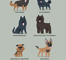 BELGIAN DOGS by lilichin