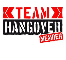 Cool Team Hangover Member Design by Style-O-Mat
