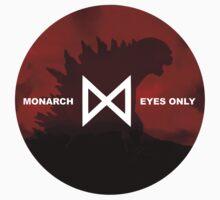 Monarch Eyes Only - Godzilla 2014 Kids Clothes