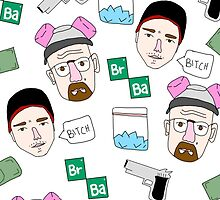 Breaking Bad Collage by Crystal Friedman