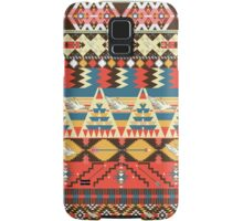 Native american seamless tribal pattern with geometric elements Samsung Galaxy Case/Skin