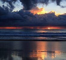 Stormy Sunrise by Ann  Van Breemen
