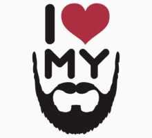 I Love My Beard by GregWR