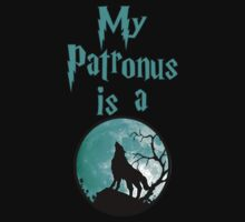 My Patronus is a wolf by seazerka