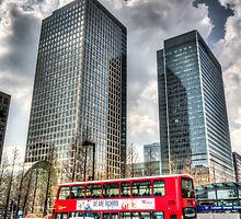 Canary Wharf London by DavidHornchurch
