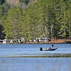 Fishing Lake Fairlee V by Caleb Ward
