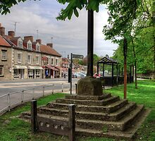 Thornton-le-Dale Market Cross by Tom Gomez