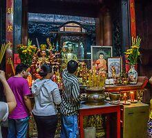 Pagoda Prayers by Werner Padarin