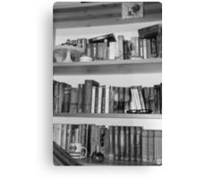 Books are best friends II Canvas Print