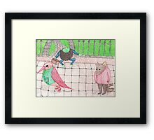 Bird, Frog, Mouse Framed Print