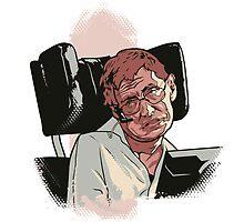 Stephen Hawking pillow by Cloxboy
