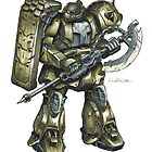 Real-Type Zaku by Mecha-Zone
