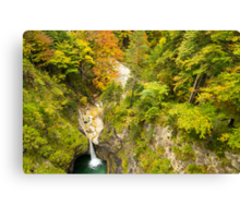 Neuschwanstein Waterfall Canvas Print
