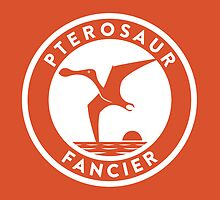Pterosaur Fancier Print by David Orr