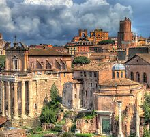 Rome - Now & Then by vivsworld
