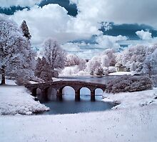 Stourhead InfraRed by Paul Woloschuk