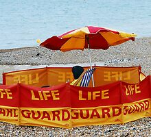 Brighton Beach Lifeguard  by SussexScenictys
