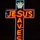 Jesus Saves by Chris  Bradshaw