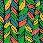 Weaving hand drawn pattern by Patternalized