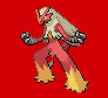 Blaziken by GreenTheRival