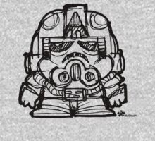 MiniWars: Sketch AtAt Driver by Ryan Spencer