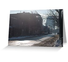Ossington Ave, Crossing The Street Greeting Card
