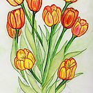 Tulips: A Mother's Day Gift  by Anne Gitto