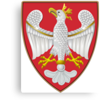 The Coat of Arms of Royal Poland Canvas Print