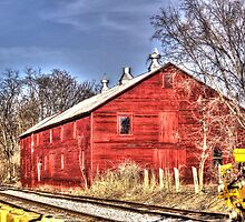 Barn Beside The Tracks by James Brotherton