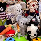 Knitted Toys by Carolyn Boyden