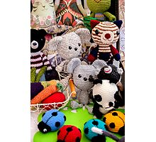 Knitted Toys Photographic Print