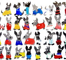 Scottie Dog World Cup 2014 by archyscottie