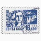 Soviet Union 1966 stamp - Peace by pixel-city