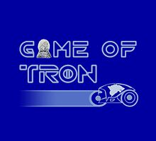 """Game of """"Tron"""" - Throw Pillow by JohnLucke"""