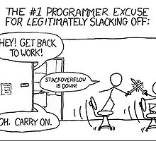 StackOverflow is down! by mlorant