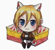 Attack on Titan Sticker Set : Angel Cake Krista by vnyx