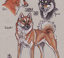 Shiba Inu by Mayra Boyle