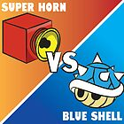 Super horn vs Blue Shell 2 by Lauramazing