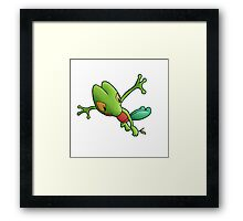Epic Treecko Framed Print
