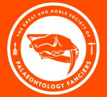 The Society of Palaeontology Fanciers (White on Dark) Kids Clothes