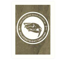 The Society of Palaeontology Fanciers Print Art Print