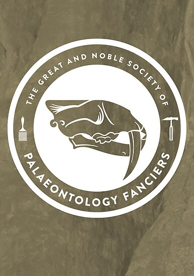 The Society of Palaeontology Fanciers Print by David Orr
