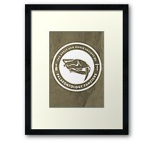 The Society of Palaeontology Fanciers Print Framed Print