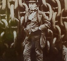 Isambard Kingdom Brunel by precisionts