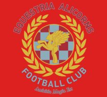 Equestria Alicorns Football Club by Rachael Thomas