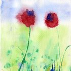 Poppies #2 by Simon Rudd