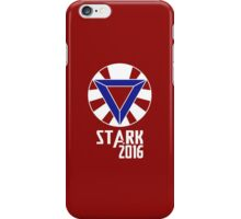 Stark 2016 (Red Shirt Only) iPhone Case/Skin