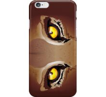 Wild Puma Eyes iPhone Case/Skin